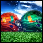 Canes Helmets