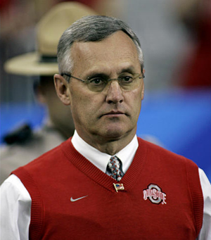 tressel, jim tressel, ohio state sanctions, jim tressel sanctions, terrelle pryor, ohio state tattoos