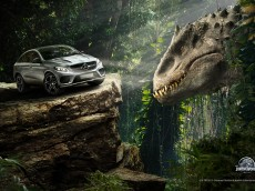 Das neue GLE Coupé  in Jurassic World // The all new GLE Coupé i