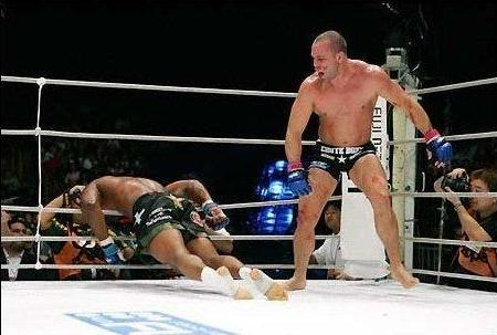 silva knockout rampage pride 24