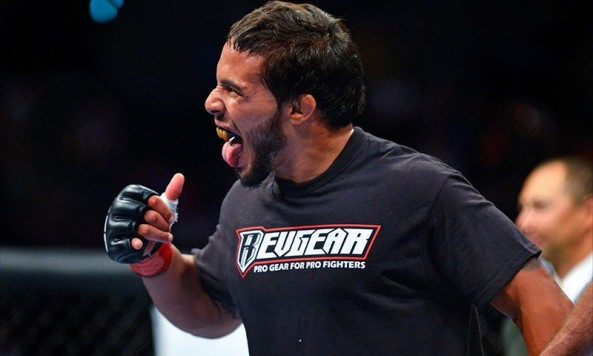 Dennis Bermudez celebrating