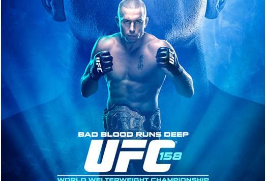 UFC_158_GSP_Diaz poster