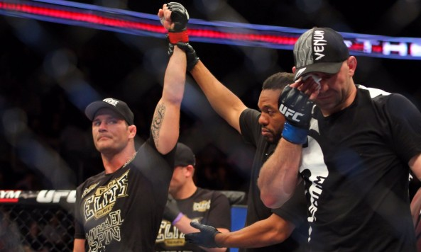 Bisping Victorious over Belcher -