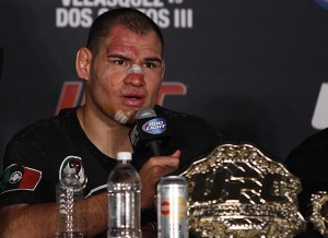Cain Velasquez UFC 166 post fight press conference