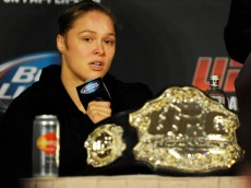 Ronda Rousey at UFC 170 post fight press conference