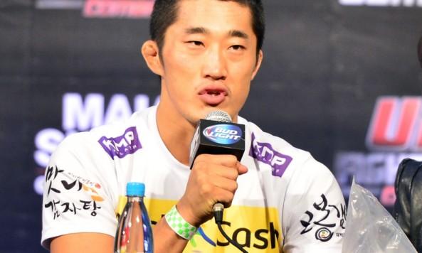 Dong Hyun Kim press conference