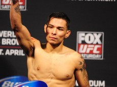ray borg ufc on fox weigh-ins