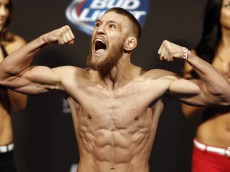 conor mcgregor weigh-ins