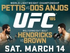 ufc 185: pettis vs dos anjos fight card