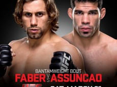 ufc fight night: faber vs assuncao fight card