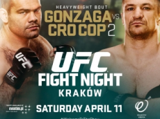 gonzaga vs cro cop 2 fight card