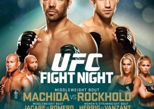 machida vs rockhold fight card