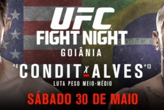 UFC Fight Night: Condit vs Alves fight card
