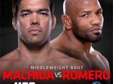 The Ultimate Fighter Brazil 4 Finale: machida vs romero fight card