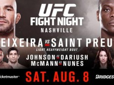 ufc fight night: teixeira vs saint preux