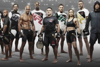 ufc fight kit group photo