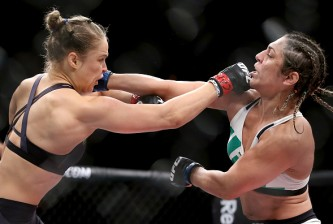 rousey vs correia fight video highlights