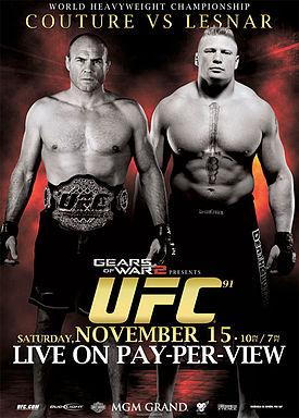 Couture_Lesnar_UFC_91