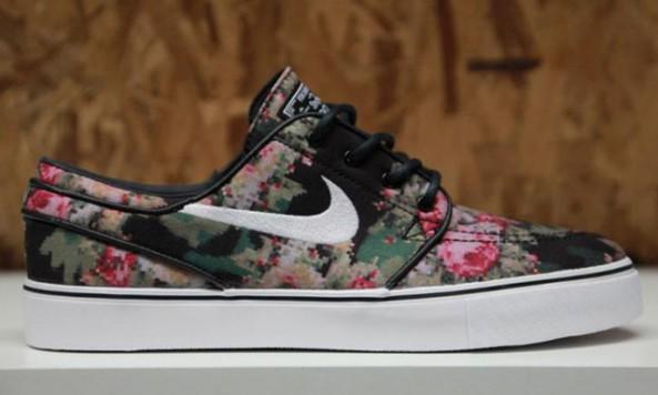 Nike Stefan Janoski Dames Floral