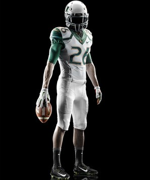 Nike Miami Hurricanes 2014 Football Uniform - Stormtrooper