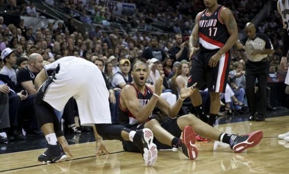 Spurs Blazers
