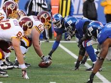 Redskins Giants Football