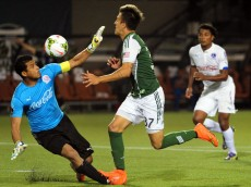 MLS: Champions League-CD Olympia at Portland Timbers