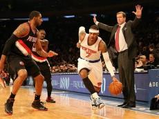Blazers Knicks