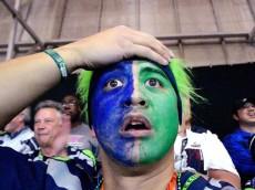 Seahawks Sad in Seattle