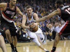 NBA: Playoffs-Portland Trail Blazers at Memphis Grizzlies