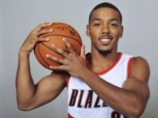 Portland Trail Blazers' Phil Pressey poses for a photo during the NBA basketball team's media day, in Portland, Ore., Monday, Sept. 28, 2015. (AP Photo/ Greg Wahl-Stephens)