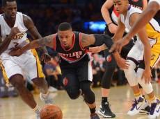 Blazers Lakers