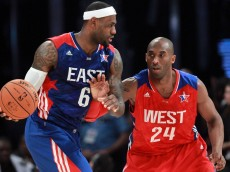 LeBron Kobe