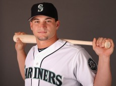 PEORIA, AZ - FEBRUARY 19:  Mike Zunino #5 of the Seattle Mariners poses for a portrait during spring training photo day at Peoria Stadium on February 19, 2013 in Peoria, Arizona.  (Photo by Christian Petersen/Getty Images)