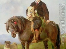 john-samuel-bradford-as-a-boy-seated-on-a-shetland-pony-with-a-pug-dog
