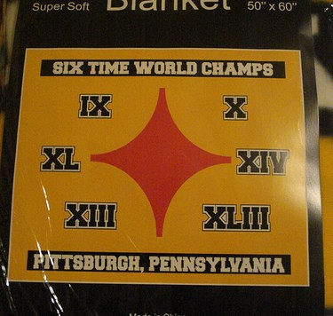 steelersblanket