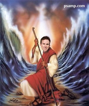 buccigross-black-moses-parting-red-sea