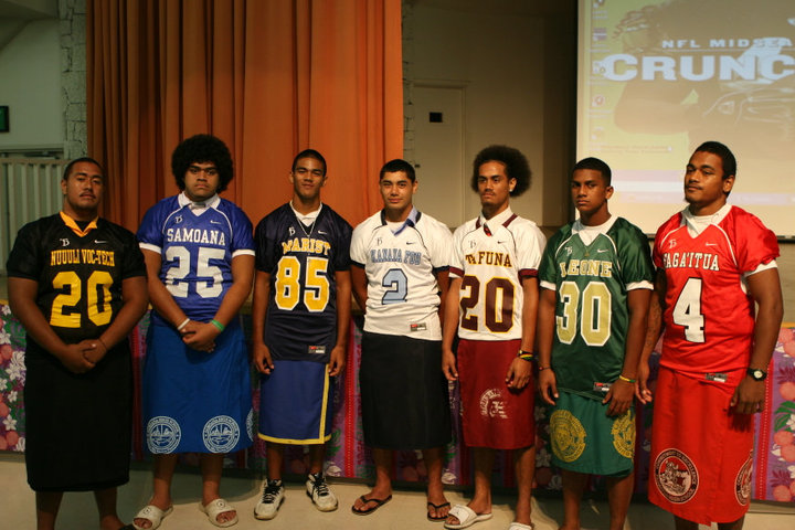 Troy Polamalu Gave Fresh Threads To American Samoa S High