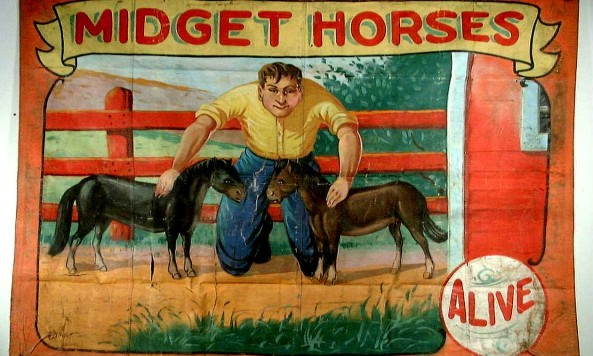 midget_horses_sideshow_posters