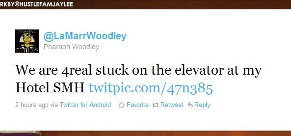 lamarrwoodleystuckinanelevatortweet