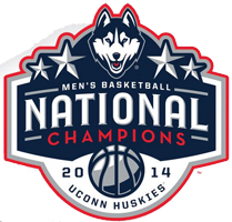 2014 NCAA Men's Basketball Champions UConn Huskies
