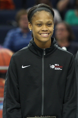 "Moriah Jefferson will join her two teammates on the ""Husky of Honor"" wall at the end of her career after earning WBCA All-American status."