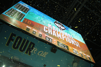 2015 NCAA Women's Basketball Tournament NCAA Championship Celebration by UConn