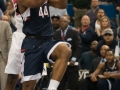 UConn's Rodney Purvis goes in for a layup during the 2015 American Athletic Conference men's championship finals between the SMU Mustangs and the UConn Huskies at the XL Center in Hartford, CT.