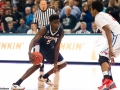 UConn's Daniel Hamilton (5) cuts back during the 2015 American Athletic Conference men's championship finals between the SMU Mustangs and the UConn Huskies at the XL Center in Hartford, CT.