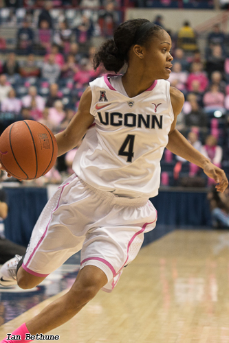 Video: UConn's Moriah Jefferson Working Her Way To All ...