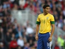 Ganso durante jogo contra a Gra-Bretanha, 20 de Julho de 2012. MOWA PRESS