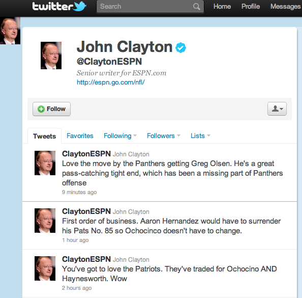 ClaytonTwitterMainPage