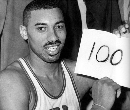 The Radio Broadcast Of Wilt Chamberlain S 100th Point