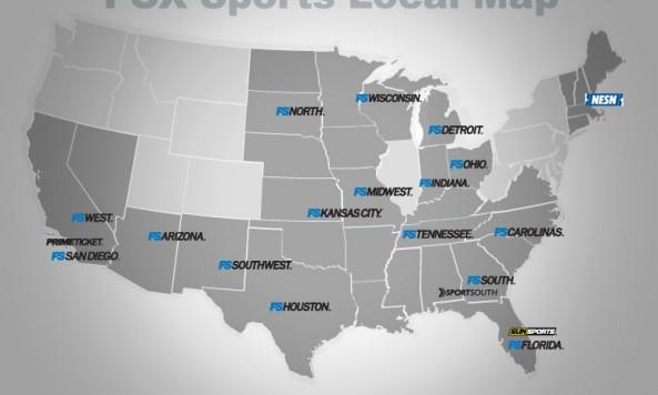 foxsportsregionalmap